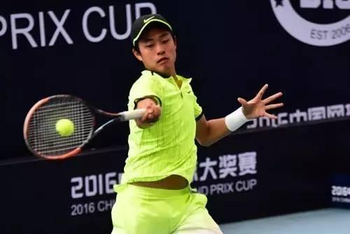 17岁小将撬动中国男网新格局 盼冲击世界前100