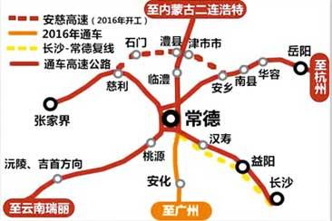 澧阳镇地图